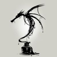 Ink Dragon by Design-By-Humans