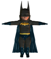 lil Batman Model by TonyDumont