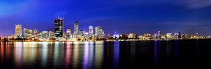 Perth City Twilight by jcantelo