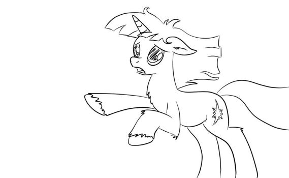 Twilight Sparkle lineart by BR-David