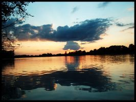 Sunset on Kokomo Reservoir by xx---greg---xx