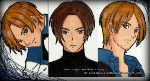 Leon Scott Kennedy Blog Banner by LeonandClaireBSAA