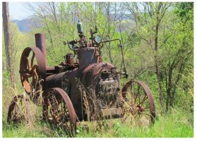 Steam Powered off the War Path by CrystalMarineGallery