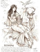 Nymph -Maria Makiling by artstain