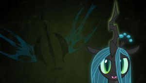 Queen Chrysalis wallpaper 1 by Chaz1029