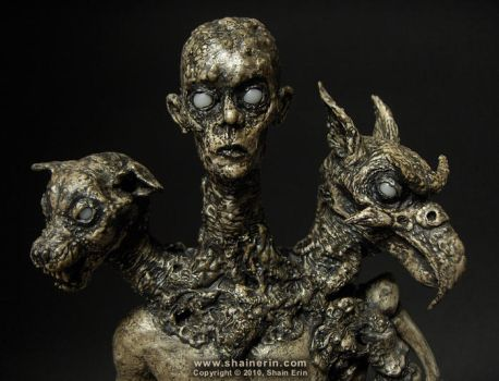 Bune - Demon Sculpture by shainerin