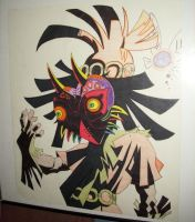 Majora's mask by SlaveRain