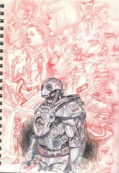 Sketch Book stuff 3 by DylanTeague