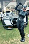 Catwoman with Batmobile by gottabekittenme