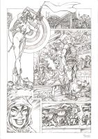 Harley Quinn sample page 1 by JoelPoischen