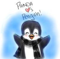 Panda Loves Penguin by LadyDrusilla