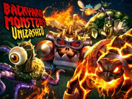 Backyard Monsters All-New Key Art by DNA-1