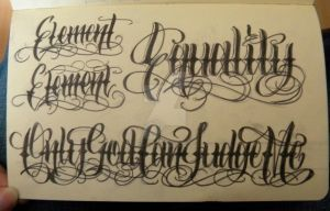 Moleskine Lettering 3 by 12KathyLees12