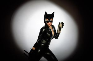 Catwoman Has Stolen Pearls by OneMorePike