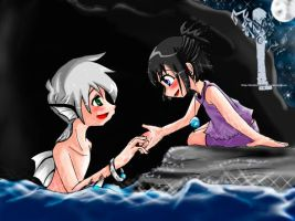 DP : MD : Danek and Sam by DarkHalo4321