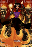 Wadi as Fire Element by moonofheaven1