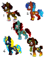 Breedable Adoptables for Luigilady95 by Chickfila-Chick