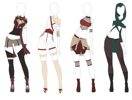 Outfit Adoptable (1) [CLOSED] by Swuk