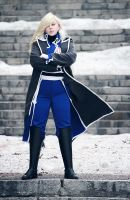 Olivier Mira Armstrong by Ashitaro