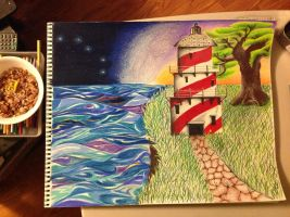 Lighthouse 1 by AmericanArtworks