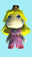 Princess Peach Sackgirl by MarioGamer-159
