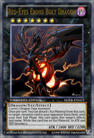 Red-Eyes Ebons Bolt Dragon by CardHunter