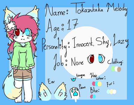 Tokazutaka Melody reff sheet by kawaiimelody02