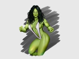 She-Hulk by LUWY