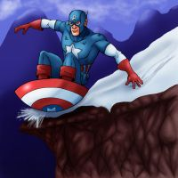 Captain America Shield Sled. by IMForeman