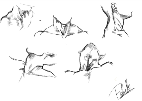 Neck Sketches by rafaT007