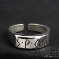 Silver S.P.Q.R. ring by Sulislaw