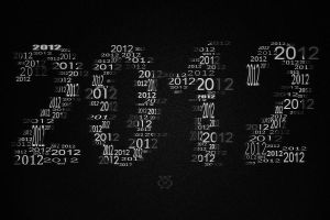 2012 Typography by SaartjePancake
