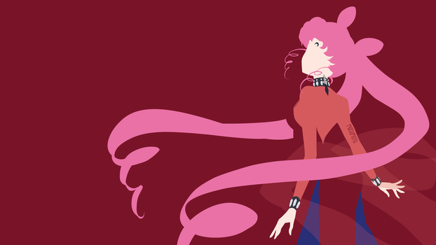 Black Lady from Sailor Moon Crystal | Minimalist by matsumayu