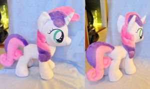 Sweetie belle plush by Epicrainbowcrafts