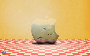 Apple Fishbowl WP by Ant-artistik