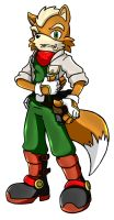 Fox McCloud by Kiro13
