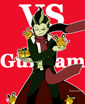You are challenged by Gundam! by sheebal