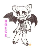 Rouge the Bat by Chobits13