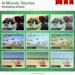 Moody Stories Photoshop Actions by Wnison