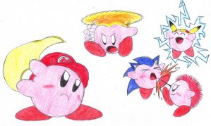 Super Kirby Fighters Fellowship by C-Studios