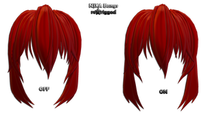 NJXA Bangs ReRigged -DL- by SatanicFlower