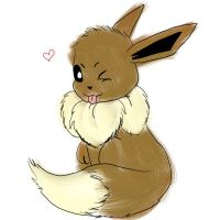 Fuzzy Eevee by Avi-the-Avenger