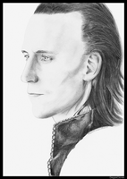 Tom Hiddleston, Loki by DegasClover
