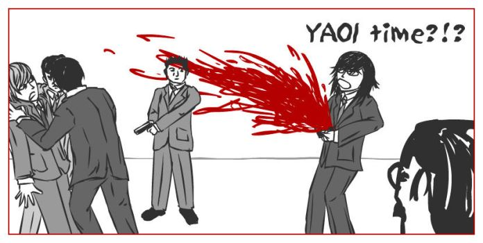 236 : Death Note : Yaoi Time 4 by witegots