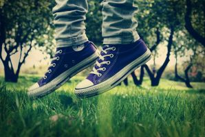 Converse by mad-and-loony