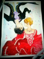 Levi Ackerman and Petra Ral by NightHallows