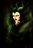 Maleficent by Geirahod