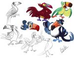 Toucan Designs by TehChan