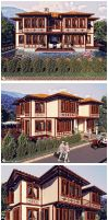 Aspendos Golf Houses-Turkish T by Semsa