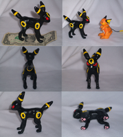 Clay Umbreon by VengefulSpirits
